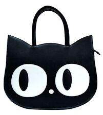 Banned Heart Of Gold 1930's Cat Inspired Kitty Kat Big Eyes Cute Handbag