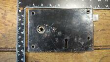 L27 Reclaimed Old Victorian Rim Lock / Door Latch