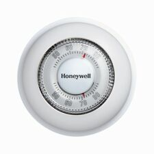Honeywell Round HEAT ONLY Thermostat CT87K Non Programmable White w/ Wall cover