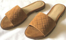 Shoes womens size 9M new man made materials sandals Ann Taylor brown toffe