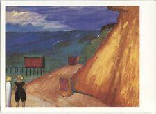 Vecchia carta d'arte-Marianne Werefkin-ripido largo di Ahrenshoop