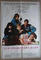 "BREAKFAST CLUB  Lebanese/English Text One sheet Movie Poster 27.4""x40 1985 NM C9"