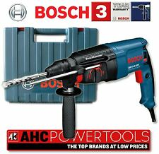 Bosch GBH2-26 DRE 2-kilo 3-mode Rotary Hammer with SDS-Plus Fitting 240V