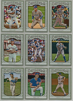 2013 Topps Gypsy Queen Chicago Cubs Team Set 12 Cards Sandberg Rizzo Banks ++