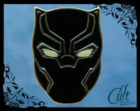 Marvel Black Panther metal & enamel Pin Badge. Glow in dark Pins Infinity War