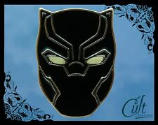 Marvel Black Panther metal & enamel Pin Badge. Glow in dark Pins Infinity War