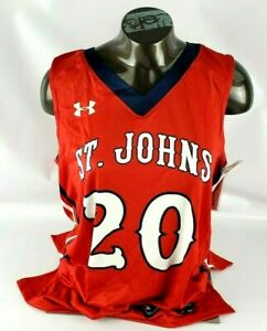 Under Armour St. Johns #20 Armourfuse Basketball Jersey Women's Adult Medium (M)
