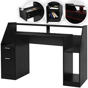 MIADOMODO® Schreibtisch Bürotisch Computertisch PC Tisch Gamingtisch