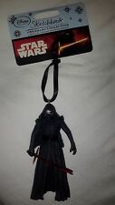 Disney Store Star Wars Kylo Ren Christmas Tree Ornament Collectible 2015