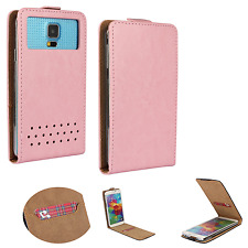 HUAWEI Ideos X3 - Smartphone Hülle Tasche Schutzhülle - Flip XS Rosa