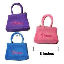 4 PRINCESS EMBROIDERED HANDBAG PURSE kids novelty bag