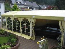 3x9m-Profizelt Partyzelt mit Schneelast  / 3m Raster zu bauen / Inkl. 6 Fenster