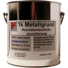 Metallgrund, Primer, Rostschutz Grundierung, Grundanstrich, rotbraun, 3 Liter
