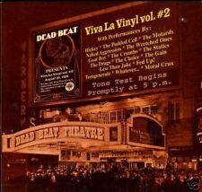 AA.VV Viva la vinyl vol.2 LP New PUNK USA DEAD BEAT REC
