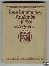El drama del extranjeros desde 1800 (1913)