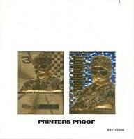 DALE EARNHARDT SR Printer's Proof Uncut Sheet 1999 23KT Gold Card NASCAR *BOGO*