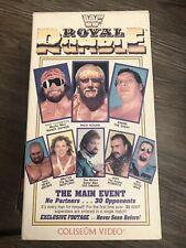 WWF ROYAL RUMBLE 1989 '89 VHS COLISEUM VIDEO WF062