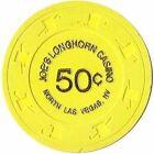 Joe's Longhorn Casino N. Las Vegas Nevada 50 Cent Chip 1990