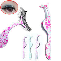 False Eyelashes Curler Extension Applicator Remover Clip Tweezers Nipper Tool AA