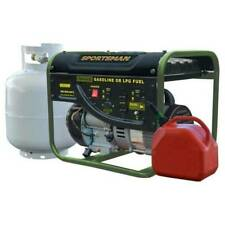 New Sportsman GEN2000DF 120V 1400W 3.5HP Dual Fuel Powered Portable Generator