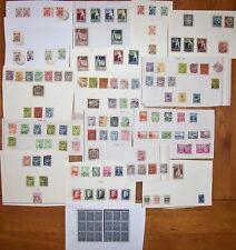 es - LETTONIE Collection env. 120 différents 1919/37