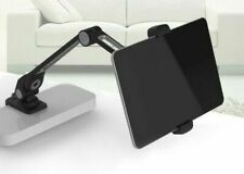 Universal 360 Degree Rotating Flexible Tablet Stand Desk/Bed Holder Black/White
