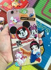 Disney Mickey Mouse Disney world Clear Silicone Gel Case For iPhone 7 Or 8 PLUS
