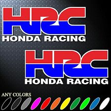 "*6.0""X2P CLR HRC HONDA RACING TEAM STICKER DIE CUT-OUT DECAL VINYL RACING SPORT"