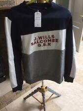 Mens Jack Wills Mapperton Sweatshirt L Navy (RRP. £59.95)