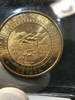 Great Seal Of The State Nevada Signed Engraved Mike O'Callaghan Governor Coin