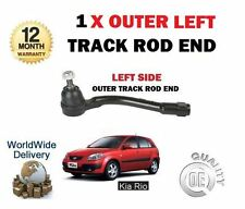 FOR KIA RIO 1.4 1.6 1.5 CRDi 2005-> NEW 1x LEFT SIDE STEERING TRACK TIE ROD END