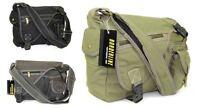 Mens Canvas Manbag Messenger Bag Womens Crossbody Shoulder Satchel Handbag
