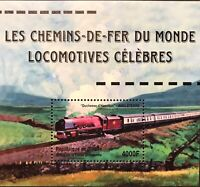 GUINEA TRAINS STAMPS SS 2001 MNH RAILWAYS OF THE WORLD FAMOUS LOCOMOTIVES RR
