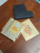 *Original* The Legend of Zelda Nintendo Game with Booklet