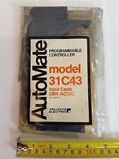 Reliance Automate 31C43 Programmable Controller Input Card 230VAC/DC New Sealed