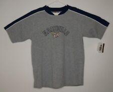 Nashville Predators NHL Big Boys Youth Short Sleeve Mesh Knit Shirt Grey