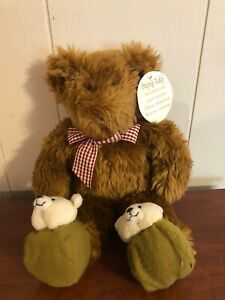 "Vintage Teddy Bear Avon Talking Praying Now I Lay Me Down to Sleep 13"" Prayer"