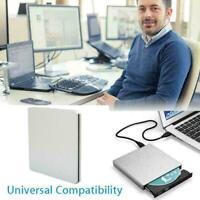 External DVD Drive USB CD Player RW Burner Laptop PC New iMAC MacBook J7G7 Q5L8