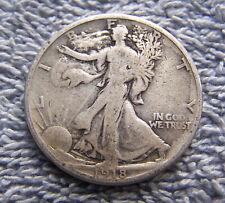 1918-S Liberty Walking Half Dollar