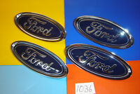 GENUINE FORD FIESTA FOCUS TRANSIT COURIER FRONT OVAL BADGE EMBLEM. C1BB 8B262 AA