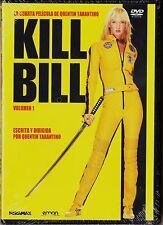Quentin Tarantino: KILL BILL 1 con Uma Thurman. Tarifa plana envíos España, 5 €.