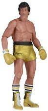 Figure Action 18cm Rocky III 40th Anniversary Series 1 Balboa Gold NECA