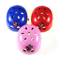 Youth Kids Skateboard Roller Blade Bicycle Scooter Safety Helmet Blue