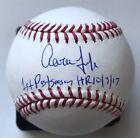 Aaron Judge signed inscribed autograph MLB baseball New York Yankees (FANATICS)
