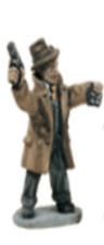 Agente dell'FBI PW6-minifigs - 28MM - 25MM-GANGSTER-Divieto -