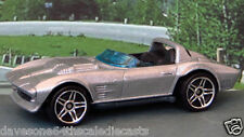 CHEVROLET GRAND SPORT ROADSTER 1:64 1964 (Silver) Hot Wheels Passenger Diecast