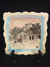 Lafitte Blacksmith Shop New Orleans, LA Square Plate 6x6""