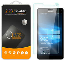 2X Supershieldz Tempered Glass Screen Protector Saver For Microsoft Lumia 950 XL