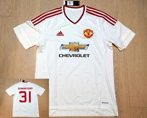 15-16 Manchester United Away Shirt S/S *BNWT* Size L  + Free Nameset