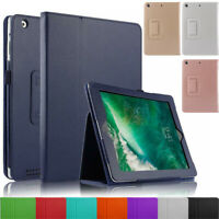 """Leather Flip Stand Folio Case Cover for Apple iPad Air/Air 2 9.7"""" 5th & 6th Gen"""